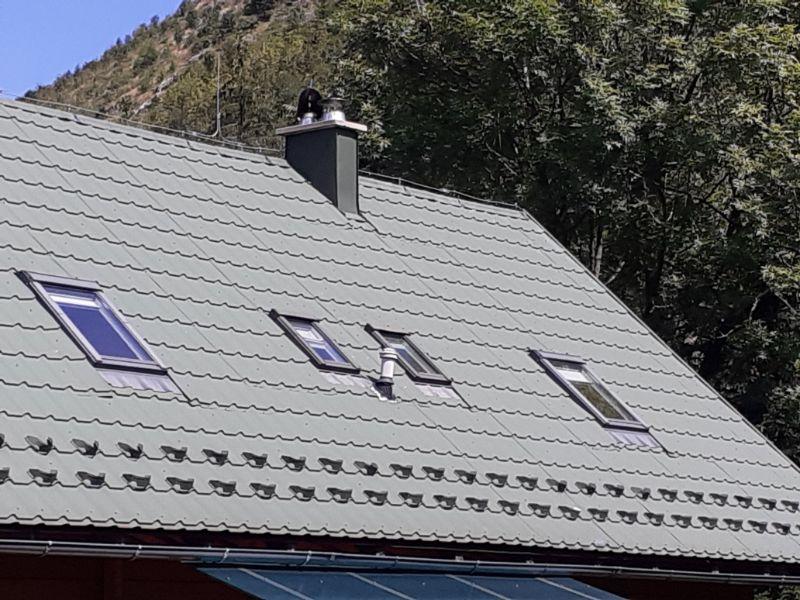 cserepeslemez tető tetőablakok
